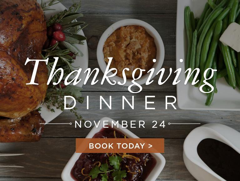Rock Center Cafe Thanksgiving Dinner