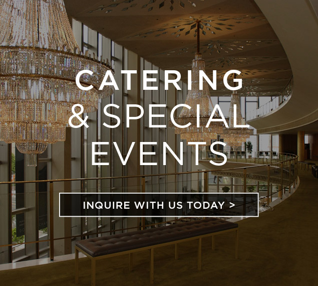 Inquire about catering and special event services