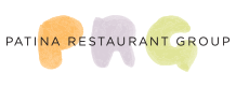 Back to Home - Patina Restaurant Group Logo