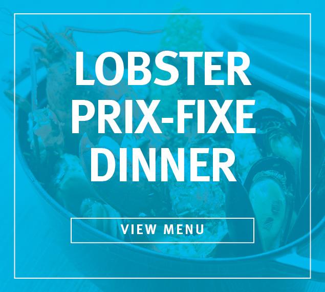 Lobster Prix Fixe Menu