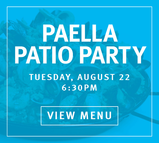 Paella Patio Party