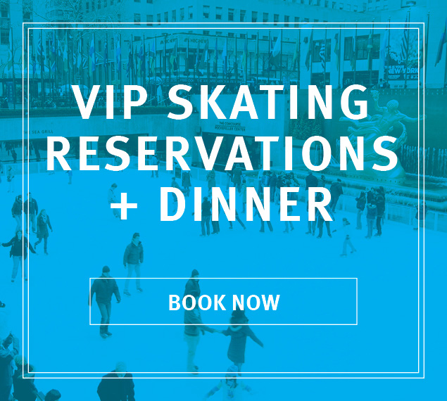 VIP Skating and Dinner at the Sea Grill