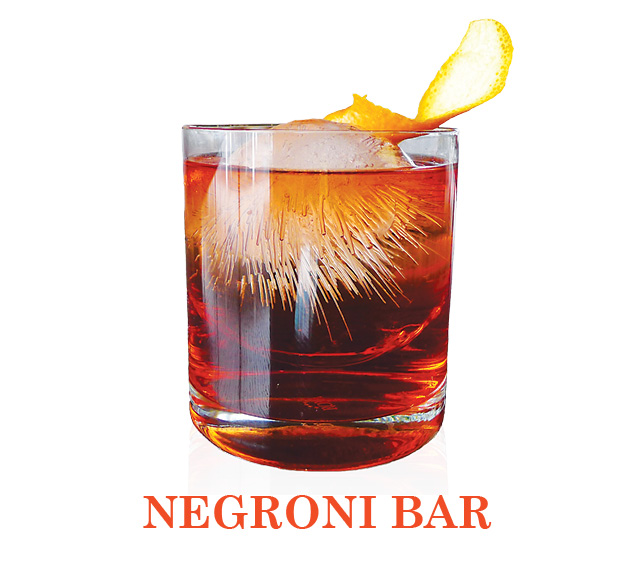Negroni Drinks at Lincoln Ristorante