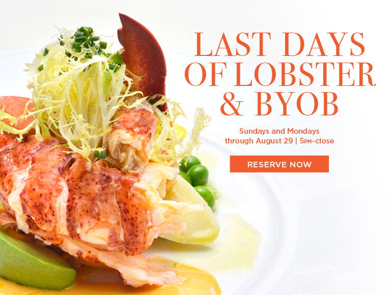 Lobster & BYOB Nights