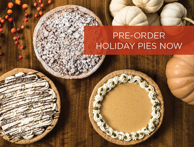 PRE-ORDER Holiday Pies