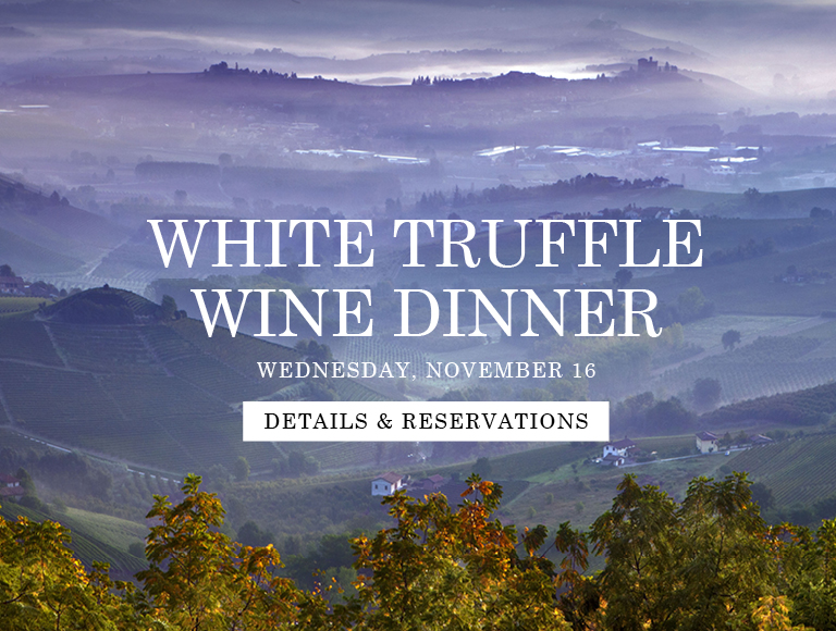 White truffle dinners at Lincoln