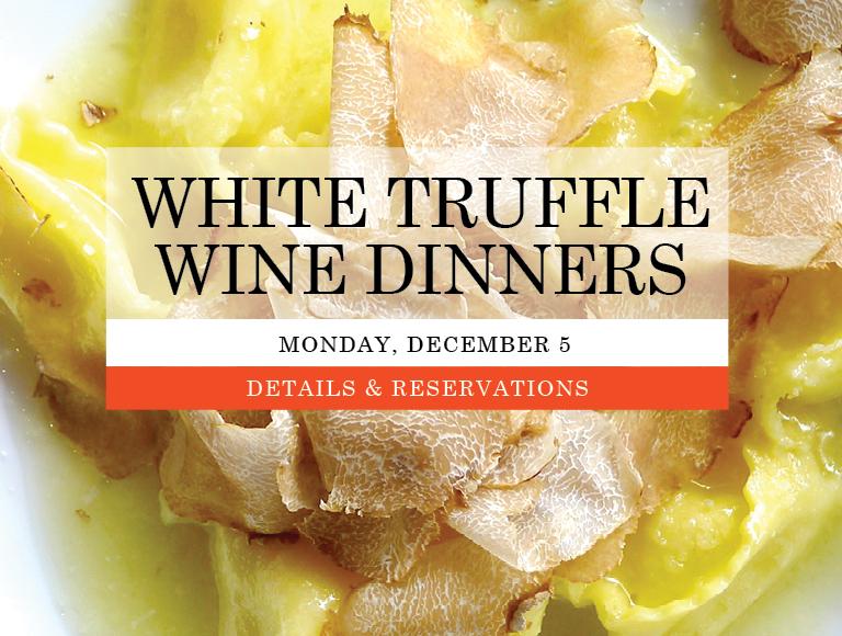 White Truffle Dinner New York