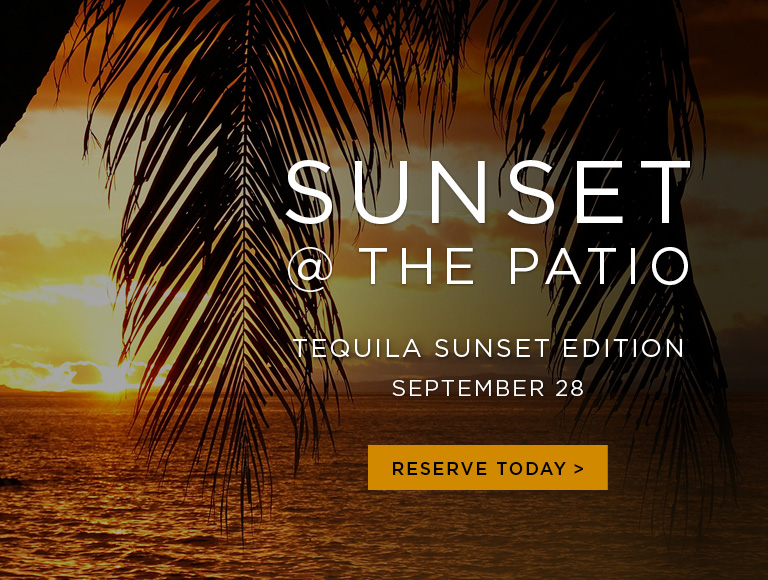 Tequila Sunset at the Patio