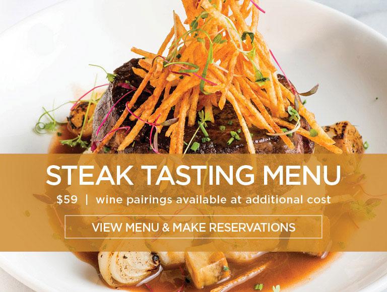 Steak Tasting Menu
