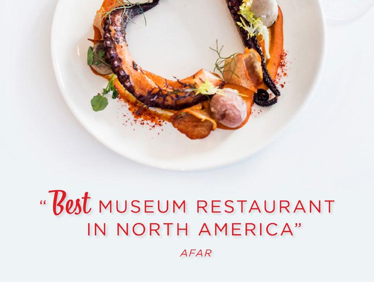 Best Museum Restaurant in North America