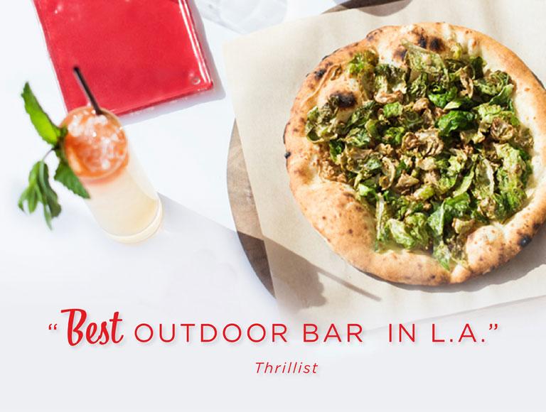 Best Outdoor Bar in LA
