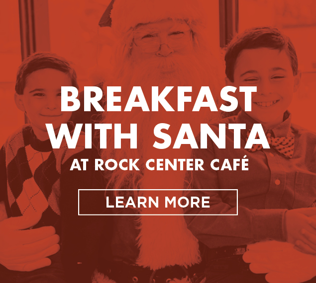 Reserve Breakfast with Santa at Rock Center Cafe