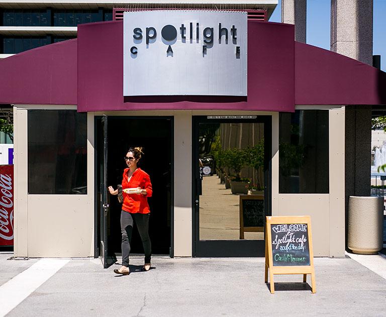 LA Music Center Cafe Food