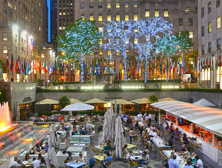 Outdoor Bar Rockefeller Center
