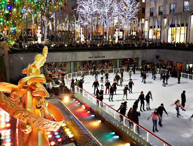 Rockefeller Center Ice Skating