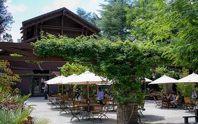 Cafe Descanso at Descanso Gardens in Pasadena