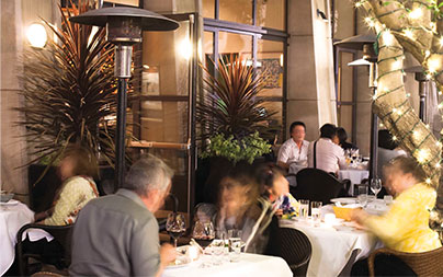 Outdoor Dining Los Angeles