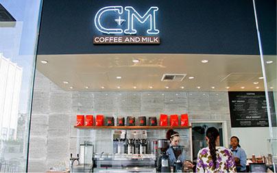 LA Cafe C+M (Coffee and Milk) LACMA