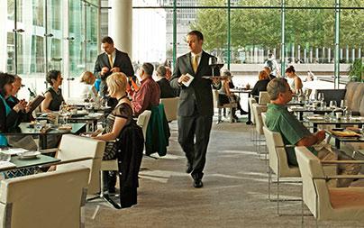 Lincoln Ristorante dining area