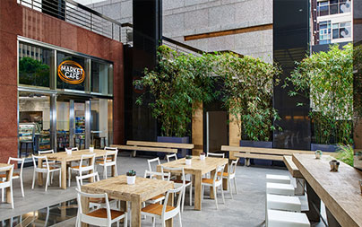 Cafe Patio Seating Los Angeles