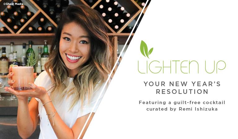 Lighten Up New Year's Resolution