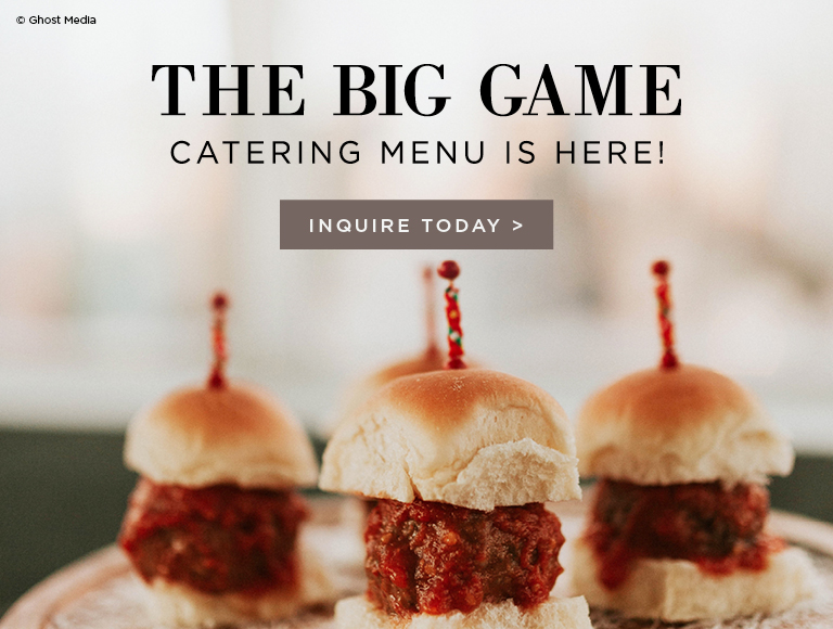 The Big Game Catering Options Los Angeles
