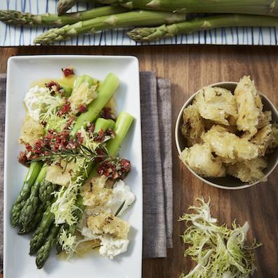 Asparagus at Maple Restaurant