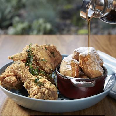 Chicken at Maple Restaurant