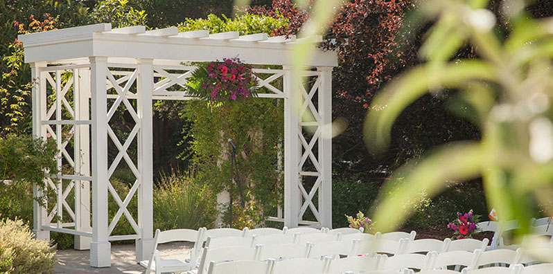 Wedding Ceremony at Descanso