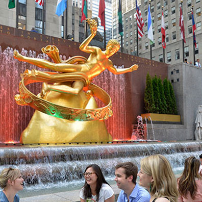 Rockefeller Center wedding venue