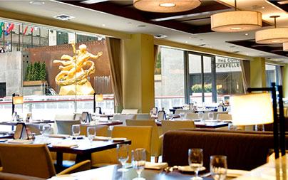 Midtown Restaurants at Rockefeller Center
