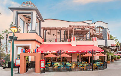 Mexican Restaurant at Disneyland