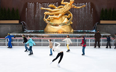 The Rink at Rockefeller Center Ice Skating